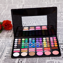 2015 New Hot Sale 1PCS 78 Color eyeshadow palette cosmetics eye shadow brushes Makeup 2#, Free shipping(China (Mainland))