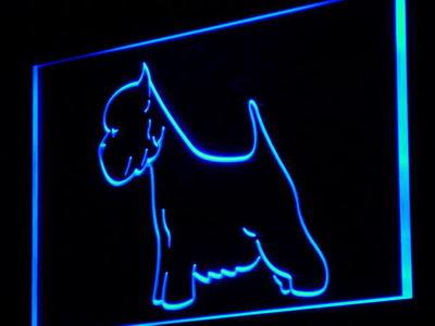 j251-b Westie Dog Pet Shop LED Neon Light Sign Wholesale Dropshipping(China (Mainland))