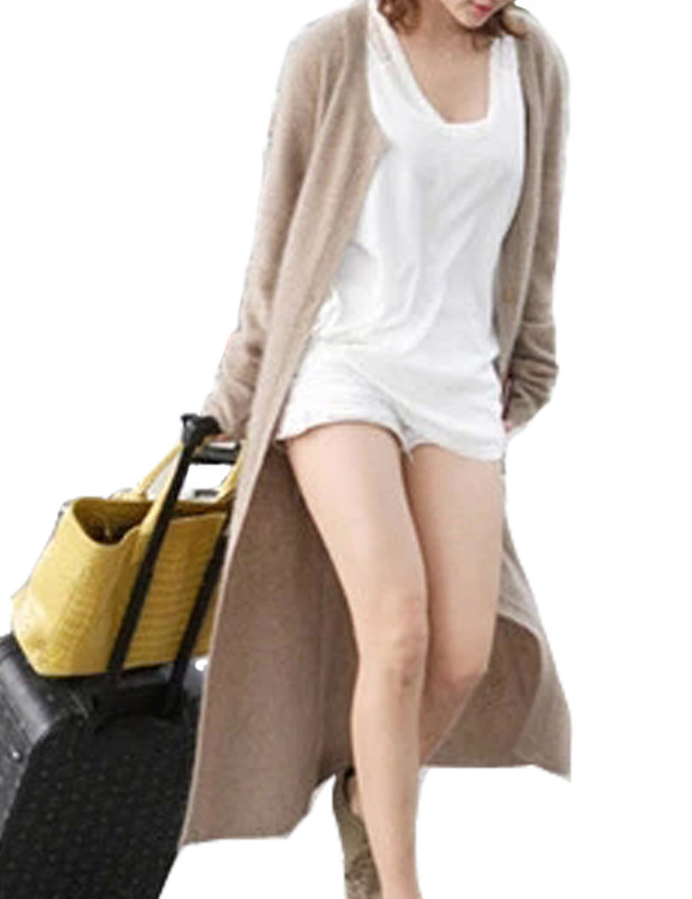 New winter Autumn Cashmere Cardigan Long Sweater Single Breasted Warm Woolen Knitted Sweaters O-Neck Designer Cardigans Women(China (Mainland))