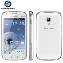 Original Unlocked Samsung Galaxy S Duos S7562 Mobile Phone 4.0''Screen 3G WIFI GPS 5MP 4GB Dual Sim Cell phone(China (Mainland))