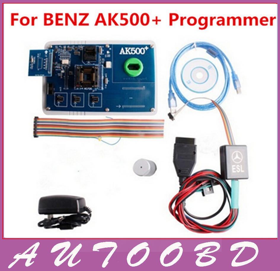 2016 AK500 + AK500 ключевые программер для M - ercedes B энц с EIS SKC калькулятор AK500 Pro для M - ercedes AK500 ключевые Pro программер оборудование для электро системы авто и мото alansh ak500 eis skc ak500
