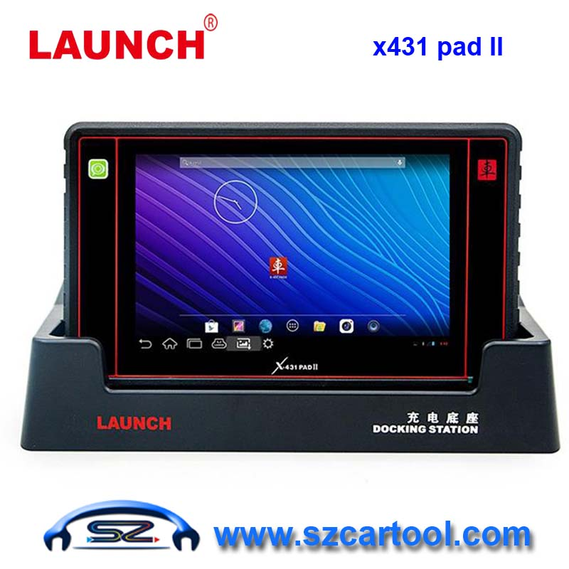 2016 Launch X431 PAD II WiFi Update By Offical Website Launch Universal Diagnostic Scanner Newest launch scanner x431 PAD II(China (Mainland))
