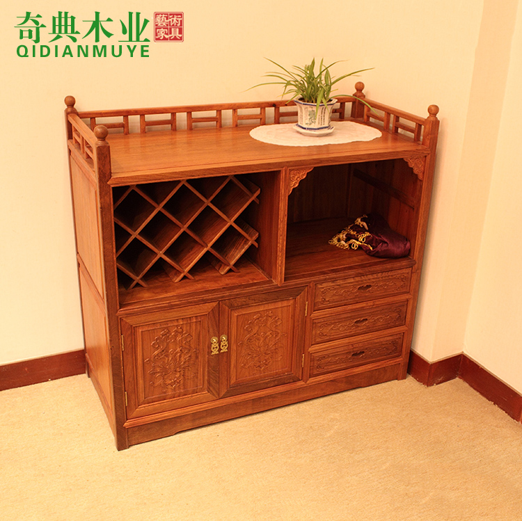 burmese rosewood furniture wine cooler mahogany cabinet storage cabinet chinese style solid wood. Black Bedroom Furniture Sets. Home Design Ideas