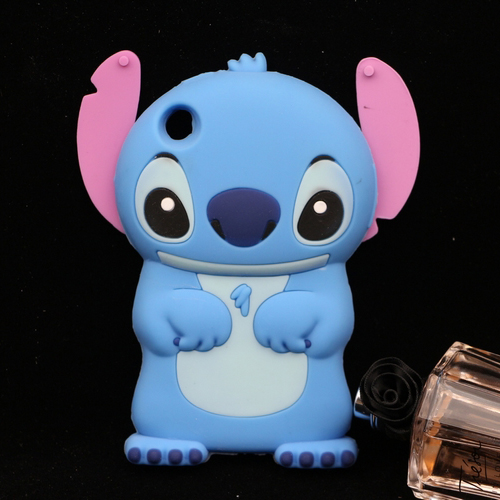 For Apple iphone 3GS Stitch Case Cute Cartoon Soft Silicone Back Cover(China (Mainland))