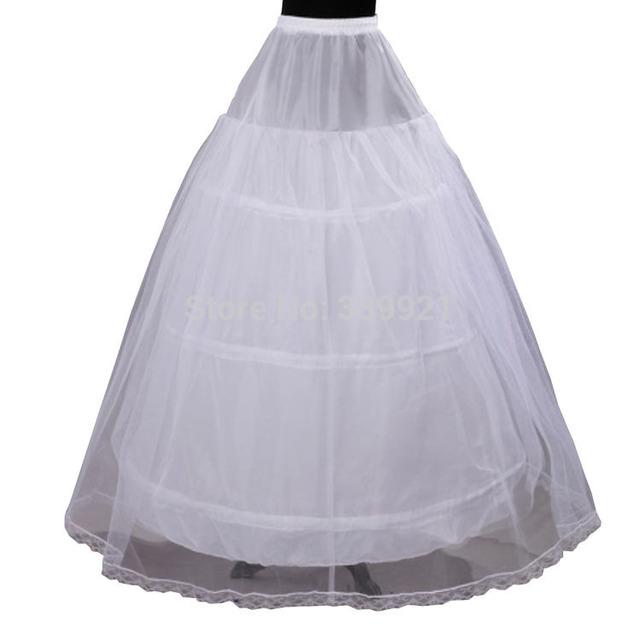 Горячая распродажа дешевой цене 2 слой 3 обруч эластичный пояс свадебные платья юбке ...