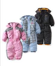 baby snowsuit autumn winter windproof  baby girl baby boys romper polyester windproof snowsuit ropa de bebe baby clothes(China (Mainland))