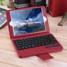 2016 New Wireless Bluetooth Keyboard PU Leather Flip Case Cover For iPad Mini 2 3 4 free shipping(China (Mainland))