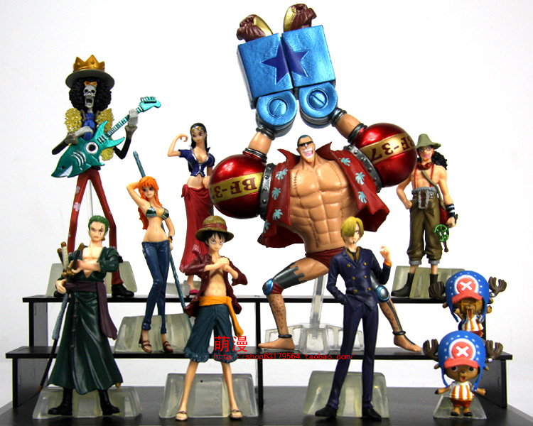 free shipping 2013 new japanese anime figurines pvc hot toys plastic people anime figures for sale One Piece 8cm 8pcs(China (Mainland))