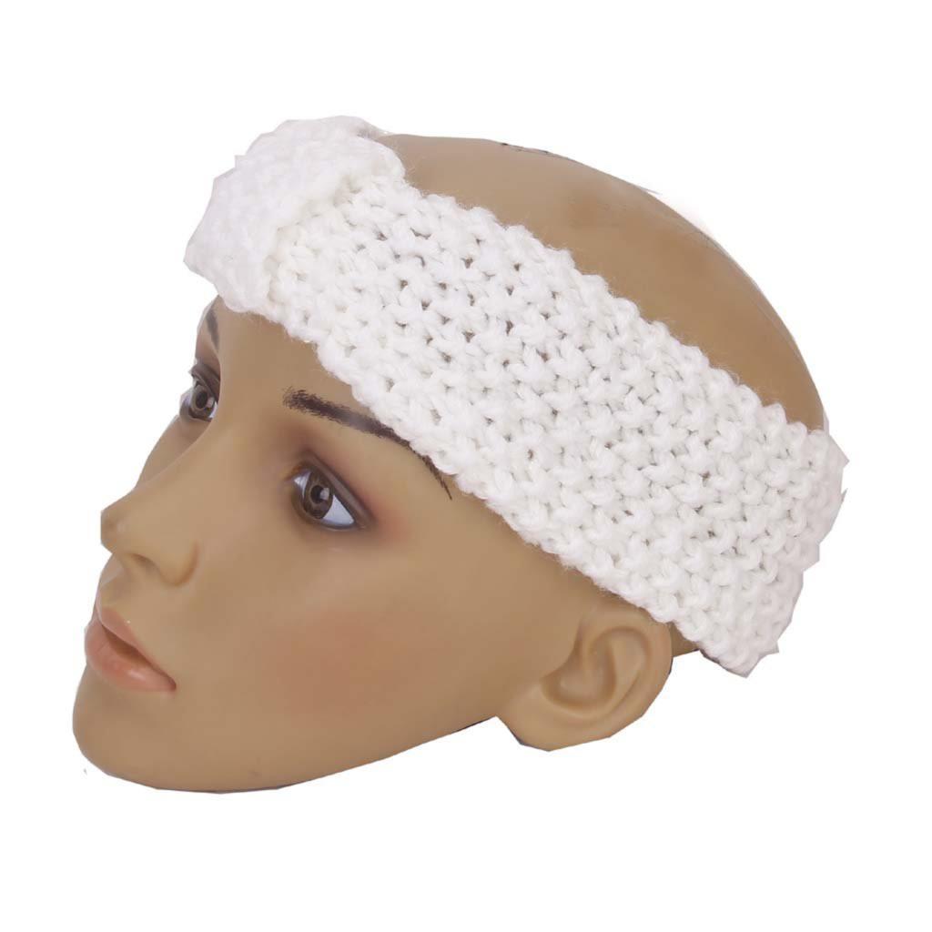 NEW Crochet Bow Headband Hair Band Knitted Head Winter Hat(China (Mainland))