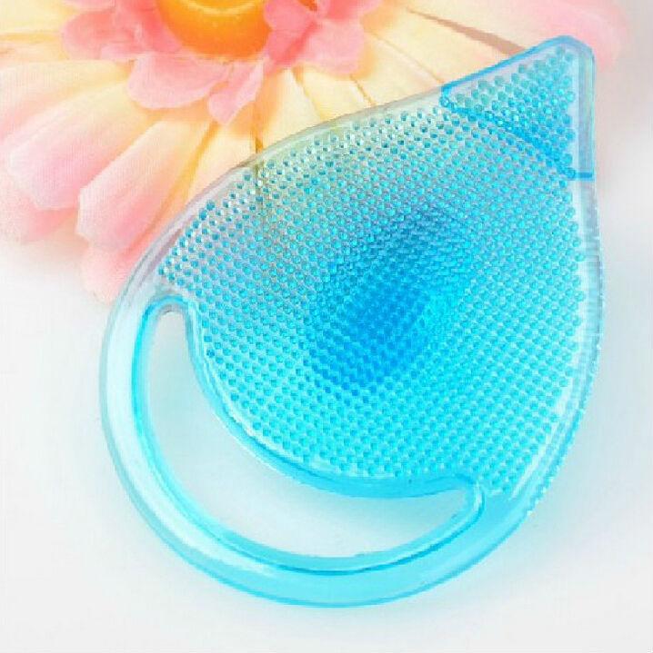 Free Shipping!2Pcs/Lot Cleaning Pad Wash Face Facial Exfoliating Brush SPA Skin Scrub Cleanser Tool(China (Mainland))