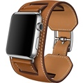 For Apple Watch Band Leather 42mm 1 1 Original Bracelet Leather Watchband Cuff Band with Adapter