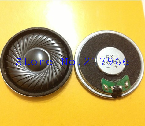 10PCS X ,RK steel factory outlets within the magnetic thin speakers speakers 2W 8 40mm * 5.5mm(China (Mainland))