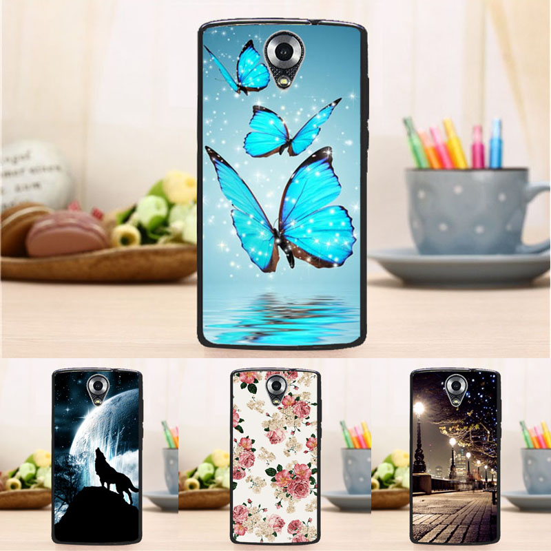 Soft Silicon Painting Case Homtom HT 7 Pro Fashion Anti Skid Back Cover HOMTOM HT7 HT 7 5.5 inch