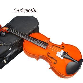 Larkviolin di tiglio violino 1/32 1/16 1/8 1/4 1/2 3/4 4/4 violino inviare custodia del violino, colofonia, arco
