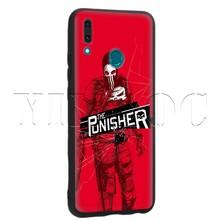 Schwarz Lavaza Comic punidor Caso para Huawei Companheiro Y7 Y9 P8 P9 P10 P20 P30 Lite Pro P Smart Mini 2017 2019(China)