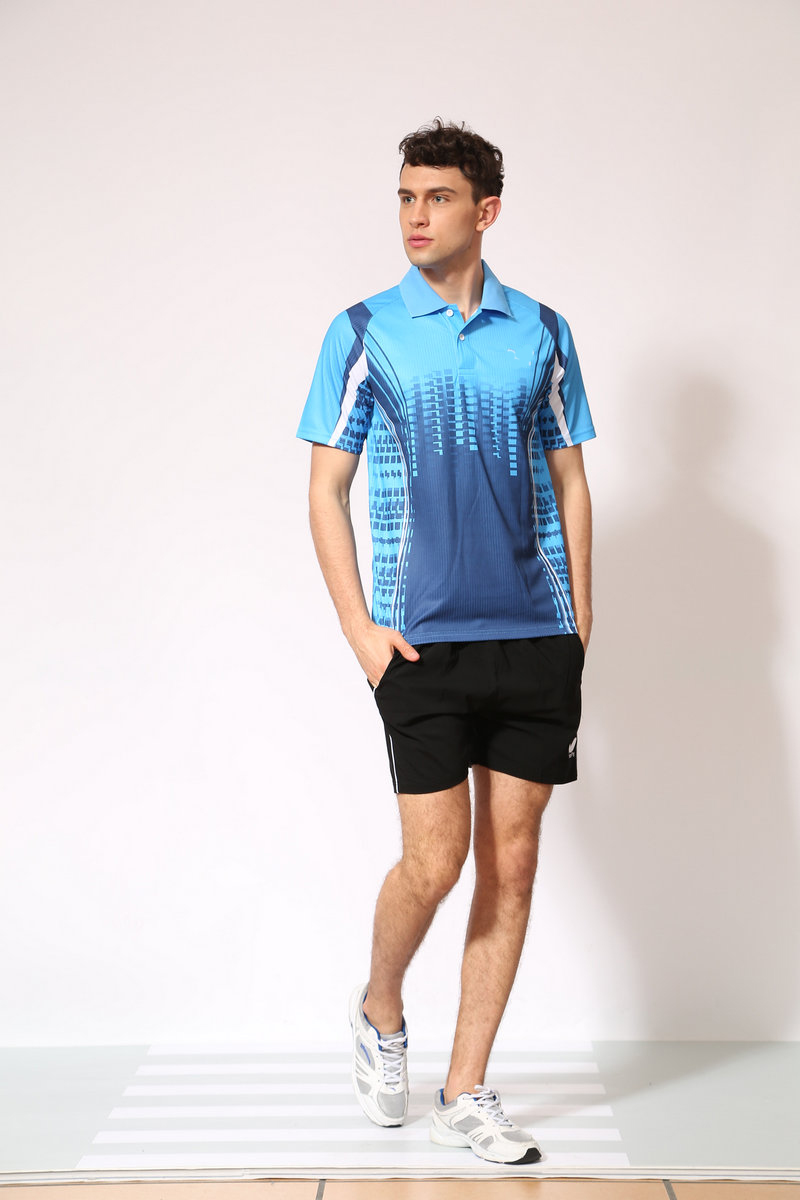 C5 New table tennis apparel tour sports uniforms men women table tennis short sleeve quick-dry B44550(China (Mainland))