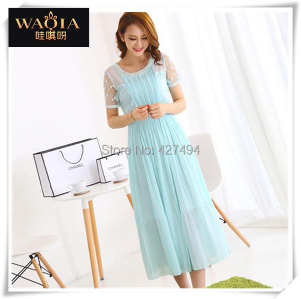 Женское платье WAQIA 2015 o