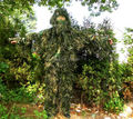 5pcs set Camouflage Ghillie YOWIE SNIPER Tactical Camo Suit For Hunting Paintball Ghillie Suit