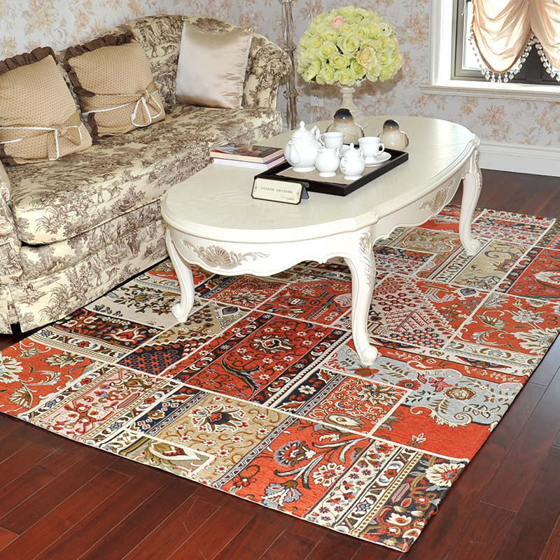 Carpet Blue Fashion Bed Area Rug Coffee Table Mat Floor Blanket Bedroom Parlor Rugs And