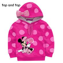 Cartoon 6 8 Baby Boys Girls Kids Coat Hoodie Jacket Sweater Pullover Outwear(China (Mainland))