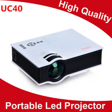 In Stock Korean ! New UC40 Projector Mini Pico portable proyector Projector AV A/V USB & SD HDMI Projector Wholesale 300pcs/lot(China (Mainland))