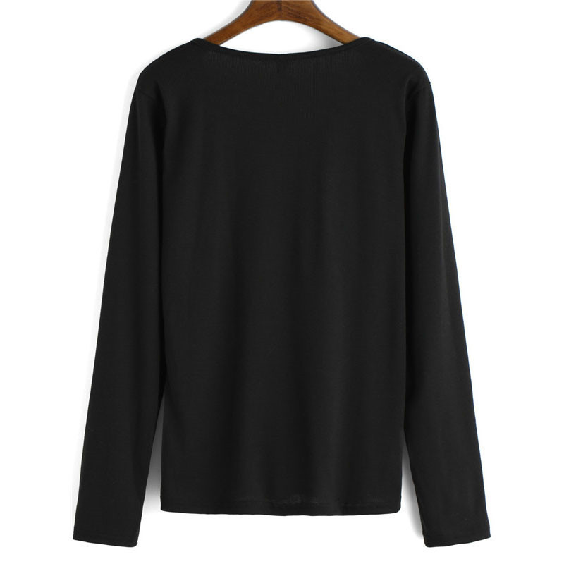 Shein дамы трикотаж 2016 моде пуловеры женщина брэнд свободный корейский дизайнер с длинным рукавом V шеи свободного покроя вязаный свитер