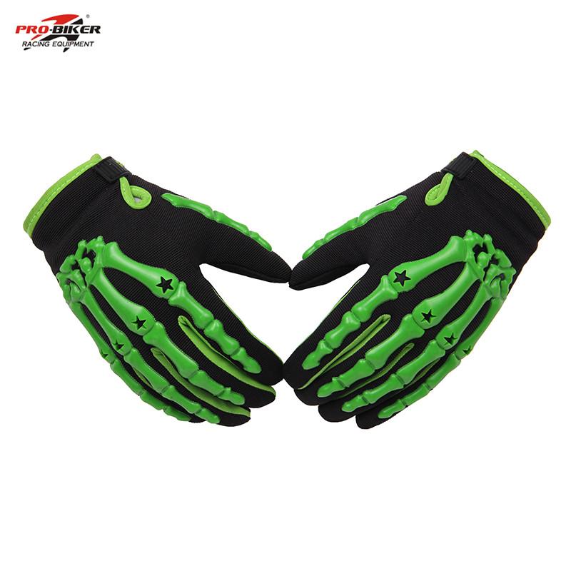 PRO-BIKER Full Finger racing gloves Outdoor Sports Motorbike Gloves BMX ATV MTB bicycle cycling Motorbike handlebar gloves(China (Mainland))