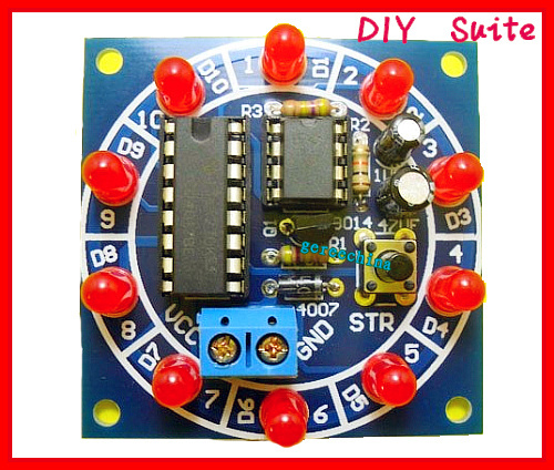 Интегральная микросхема SPIN electronic production suite 2 , suite DIY F048M switch power circuit skills training kit electronic diy suite supporting materials