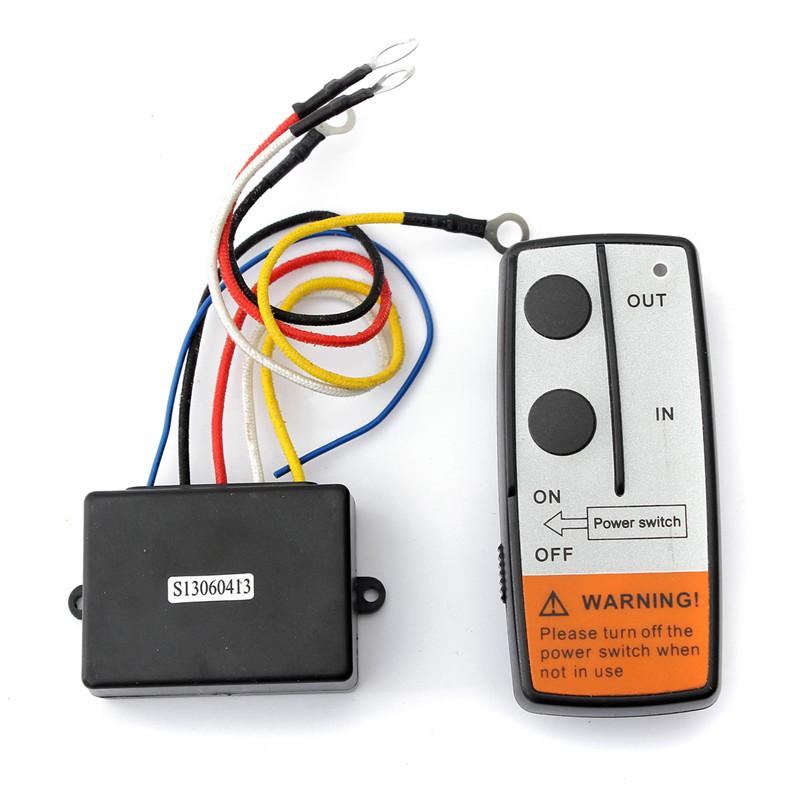 High Quality Brand New 50ft Wireless Winch Remote Control Kit For Jeep ATV SUV UTV 12V Switch Handset(China (Mainland))