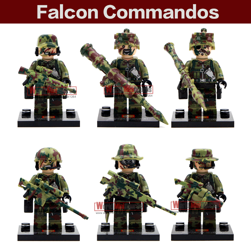 Shen Yuan Swat Police 6pcs/lot SWAT Team police officer tactical unit minifigure Classic figures Best Children Gift toys(China (Mainland))