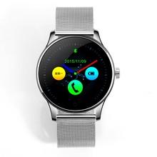Liuker K88 bluetooth-смарт часы классический здоровье металл Smartwatch монитор сердечного ритма для Android ISO телефон удаленной камеры , часы