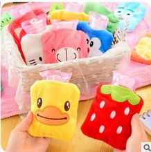 2015 Hot sale Cartoon mini hot water bottle smart plush mini hand warmer winter hot water bag(China (Mainland))