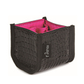 Naras Makeup Brush Cosmetic Bags PU Make up Tools Storge Box Cosmetic Bag
