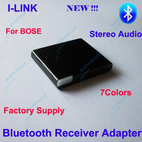 Free Shipping 5PCS A2DP V2.1 Dock Bluetooth Music Receiver for Yamaha TSX-130 & for BOSE SoundDock I, II, Portable, 10 ETC(China (Mainland))
