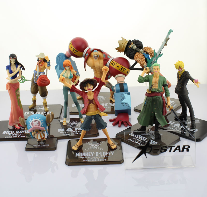 free shipping one piece the new world straw hat pirates 9