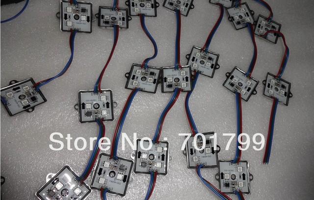 20pcs 12V WS2811 LED pixel module,0.72W;IP68