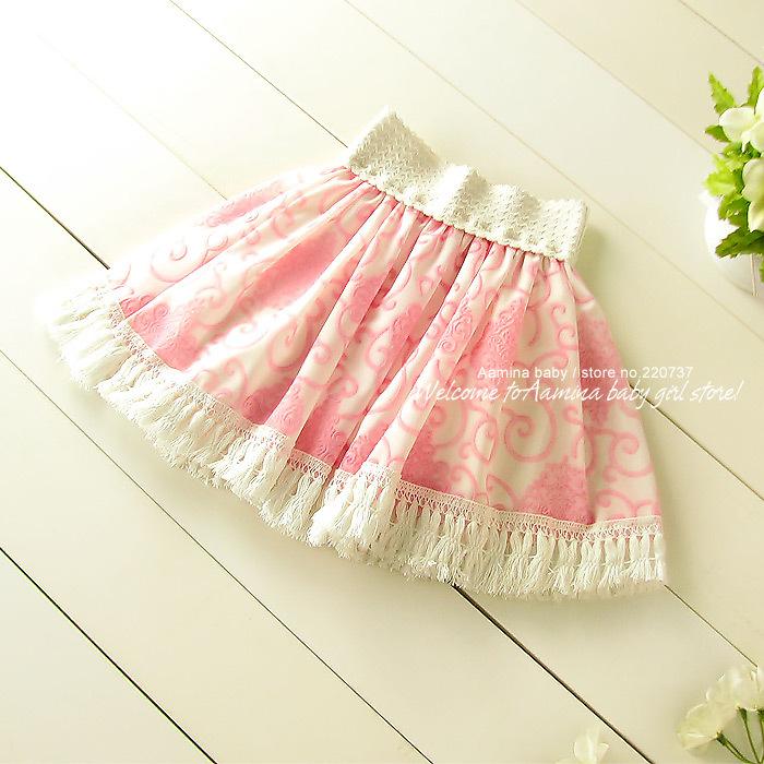 Aamina Tassel baby font b girls b font tutu skirts summer spring autumn font b