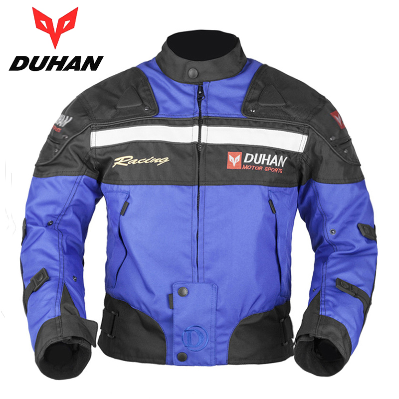 DUHAN Men's Motorcycle Riding Jackets Oxford Cloth Motocross Off-Road Racing Jacket Clothes Moto Jackets with Protector Guards(China (Mainland))