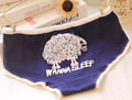 2015hot Sell Women Underwear Low Rise High Quality Natural Cotton Small Sheep Briefs For Girls Cute