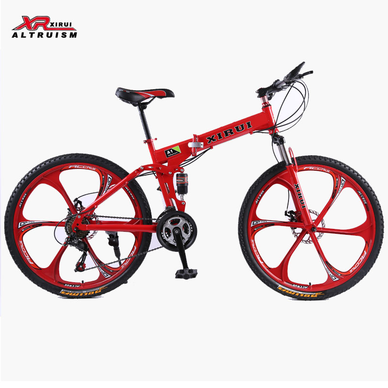 21 Speed Mountain Bike Complete A1 Folding Bicycle 26inch