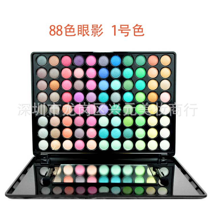 shadow Makeup Palette warm the earth color and multi-color eye shadow to Europe and the United States popular hot #1#2(China (Mainland))