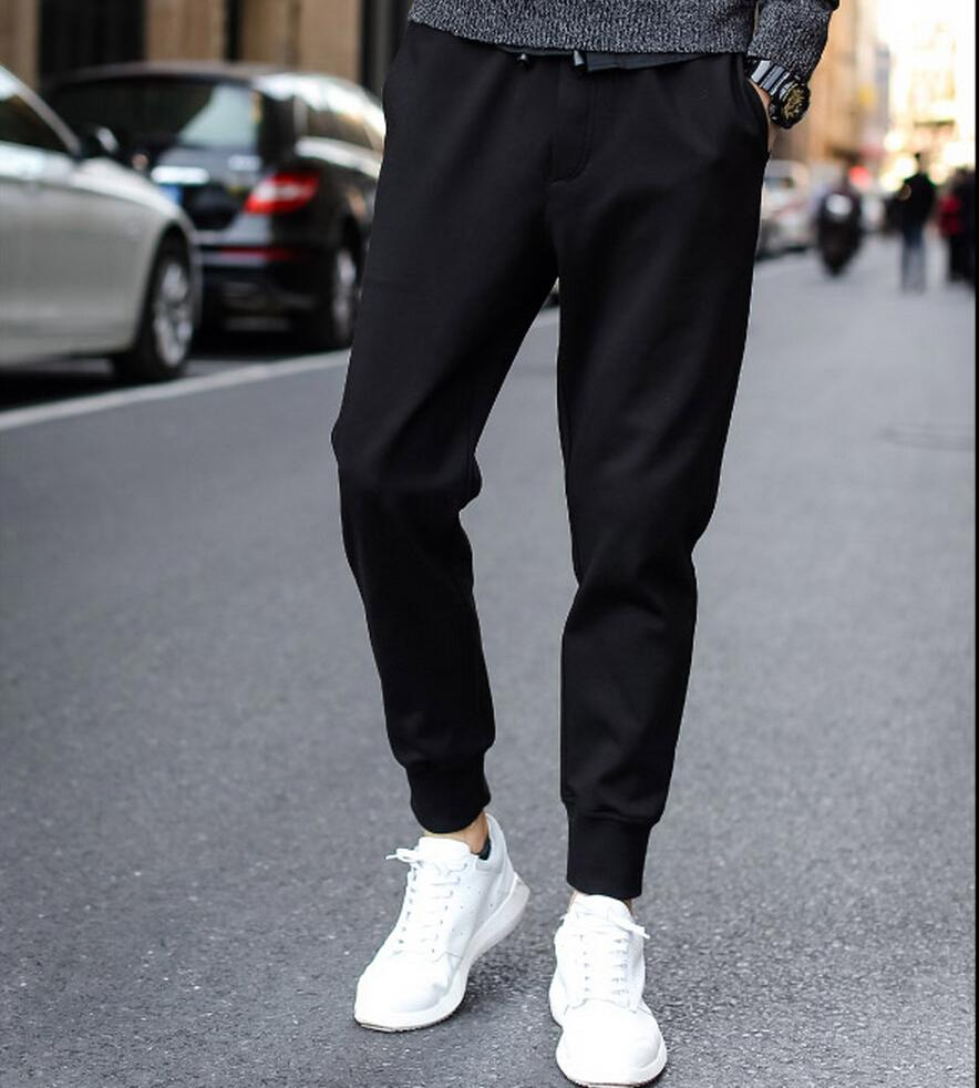 2016 Top Fashion Jogging Harem Pants Men Casual Slim Fit Ankle Banded Trousers Good Quality - Men's clothing boutique flagship store