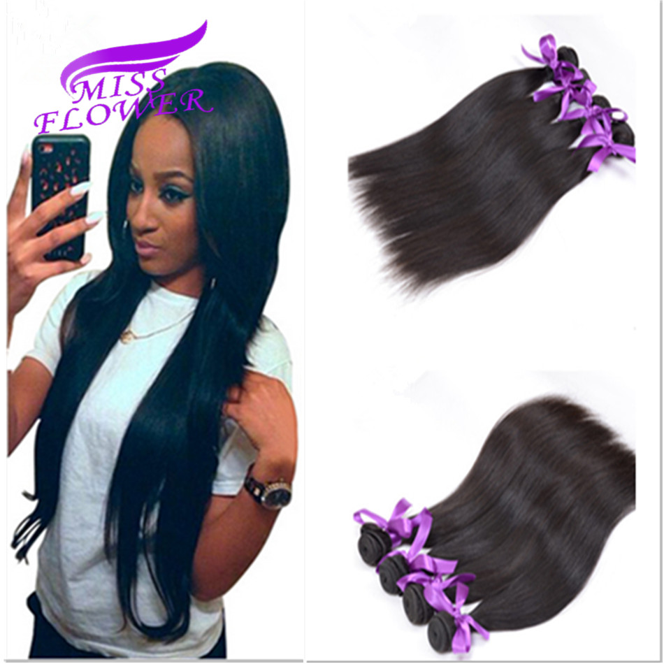 Rosa Hair Products Malaysian Virgin Hair 4 Pcs 8-26Malaysian Straight Hair Bundles Cheap Human Hair Weave Bundles Very Soft<br><br>Aliexpress