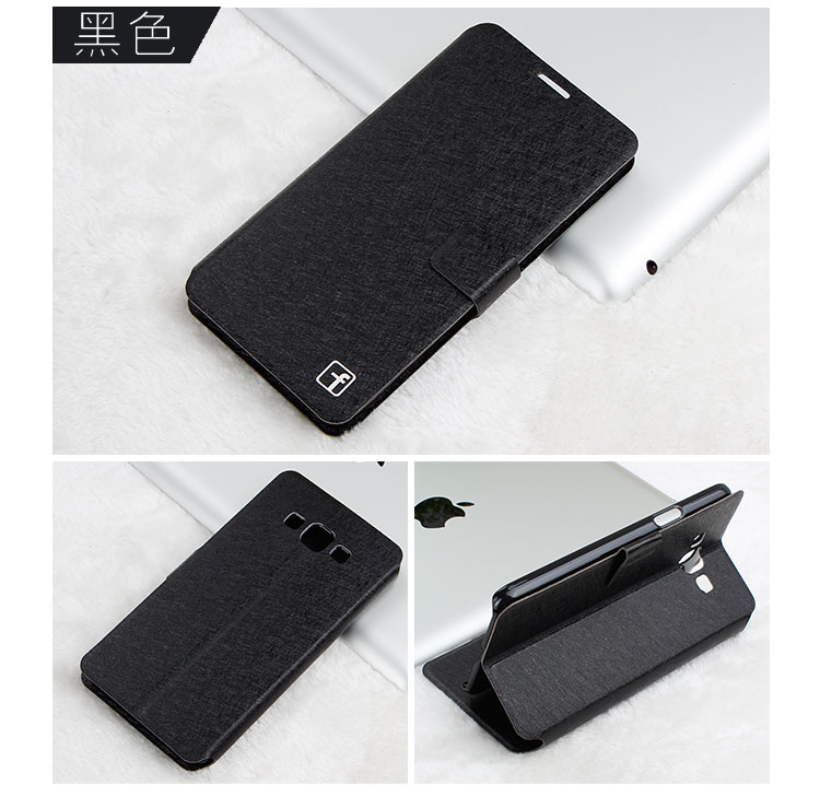 High Quality Wallet PU Leather Cover For Samsung Galaxy Grand Max G7200 Case Luxury Flip Cell Phone Case(China (Mainland))