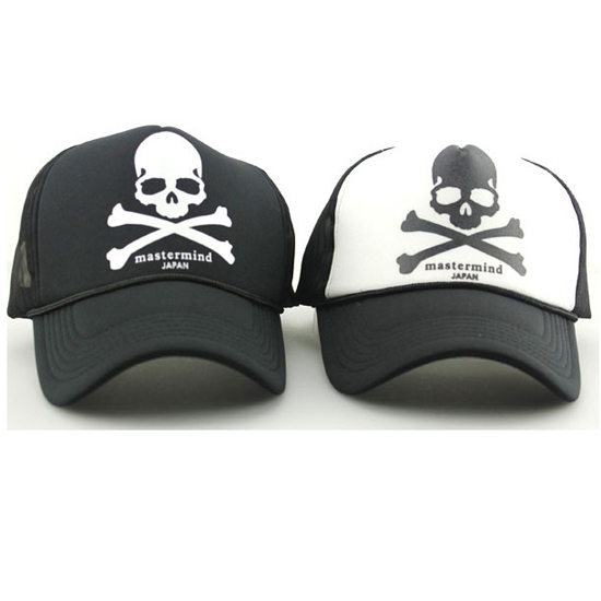 Fashion Skull Raiders Hip Hop Cap Trucker Hat For Women Men Outdoor.