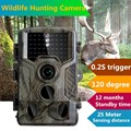 Low Glow Hunting camera Black Infrared Trail Game Scouting Camera 12MP 1080P Detection Range 80ft 3