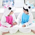 Children Pokemon Pikachu Flannel Animal Pajamas Onesie Kids Girls Boys unicorn Cosplay One Piece Sleepwear Halloween