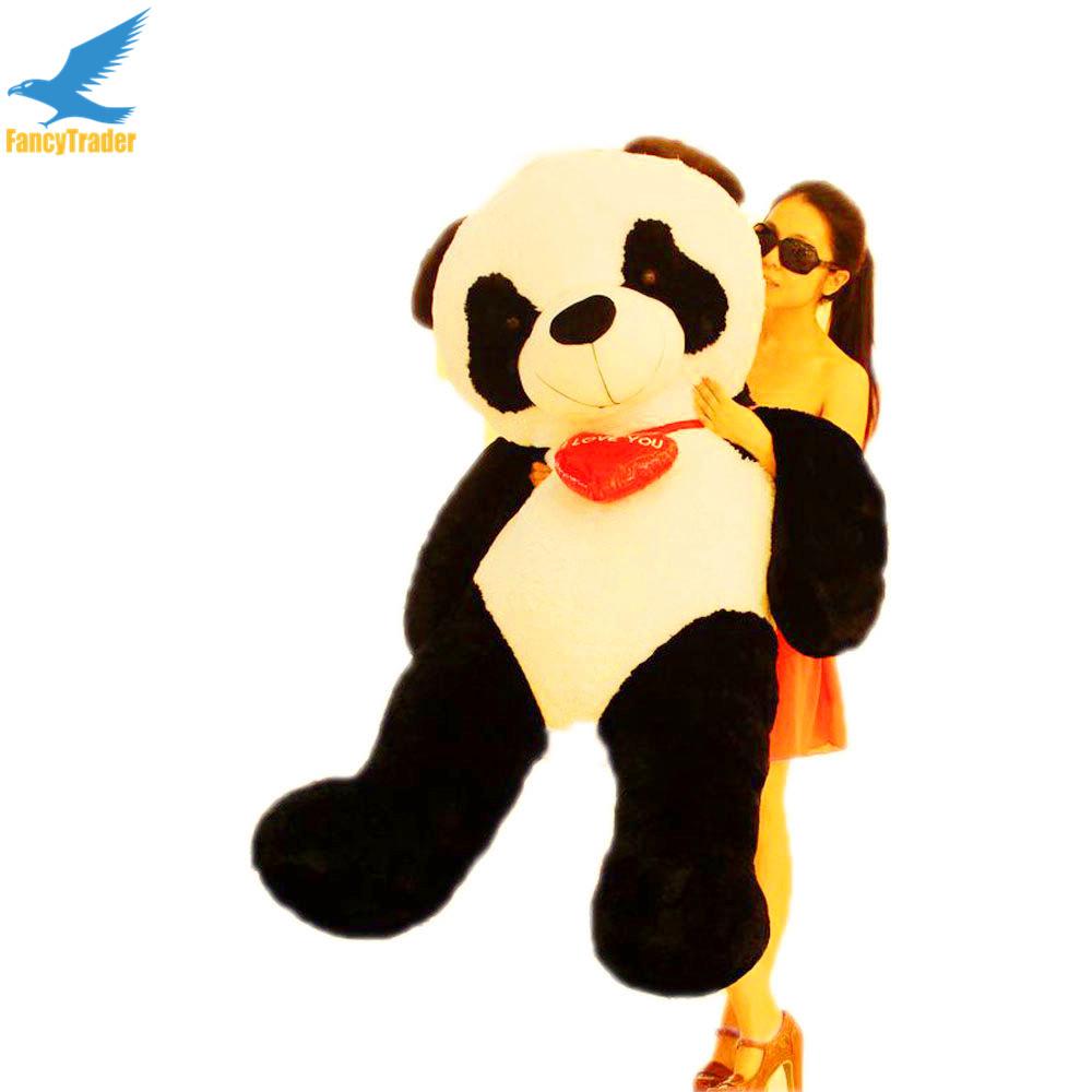 gigante de peluche de pandas compra lotes baratos de. Black Bedroom Furniture Sets. Home Design Ideas