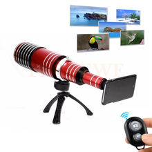 Buy 2017 80X Metal Telephoto Telescope Lens Phone Camera Lentes Bluetooth control Samsung Galaxy S3 S4 S5 S6 S7 edge note 3 4 5 for $204.70 in AliExpress store