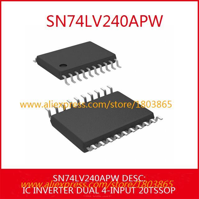 Free Shipping Electronic Kit SN74LV240APW IC INVERTER DUAL 4-INPUT 20TSSOP 240 SN74LV240 5pcs(China (Mainland))